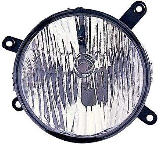 OE Replacement Ford Mustang Passenger Side Fog Light Assembly (Partslink Number FO2593207) Automotive
