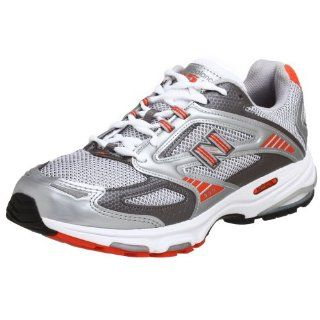 New Balance Men's MR859 Running Shoe, Grey/Orange, 12.5 EEEE Athletic Boating Shoes Sports & Outdoors