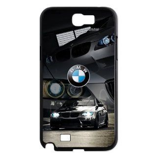 Custom BMW Back Cover Case for Samsung Galaxy Note 2 N7100 N526 Cell Phones & Accessories