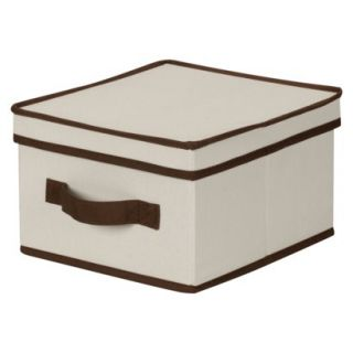Household Essentials Med Storage Box Natural/Cof