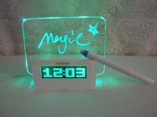 Shop Costdot Creativo Gift Green Digital Alarm Clock Calendar Fluorescent Message Board Green Light x1 at the  Home D�cor Store. Find the latest styles with the lowest prices from Creativo