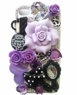 Shapotkina Fashion DIY Cellphone Case for Iphone 4/4s Mobile Phone Protective Skin Fairy Tale Light Purple Cell Phones & Accessories