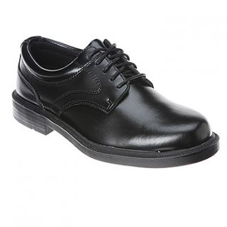 Deer Stags Times  Men's   Black Leather