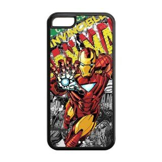 Iron Man Iphone 5c Silicone Case Marvel Comics Iphone 5c Cover at NewOne Computers & Accessories