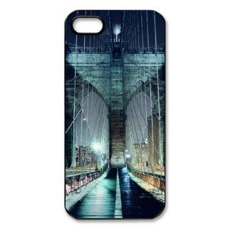 Brooklyn Bridge iPhone 5 Case Hard Plastic iPhone 5 Case Cell Phones & Accessories