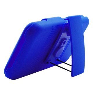 Aimo Wireless LGVS910PCBEC002 Shell Holster Combo Protective Case for LG Esteem/Revolution MS970 with Kickstand Belt Clip   Retail Packaging   Blue Cell Phones & Accessories