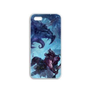 Diy Apple iPhone 5C Phone Case Personalized Gift Games League of Legends Woad King Darius LOL White Cell Phones & Accessories