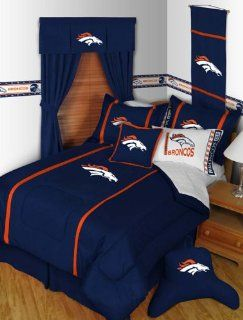 NFL Denver Broncos MVP Comforter Twin  Sports Fan Bed Comforters  Sports & Outdoors