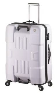 Heys USA Luggage Forza 30.5 Inch Hard Side Suitcase, White, One Size Clothing