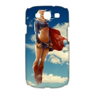 US Anime Superwoman 3D Best Hard Plastic Samsung Galaxy S3 I9300 I9308 I939 Cases Cover Skin from Good luck to Electronics