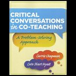 Critical Conversations in Co Teaching A Problem Solving Approach
