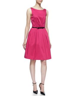 Womens sonja sleeveless cocktail dress with skinny bow belt   kate spade new