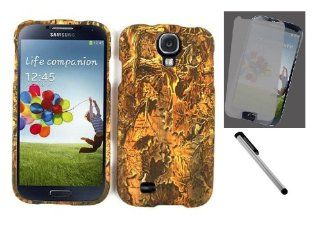 [NC] Samsung Galaxy S4 Hunting Camo Camouflage Phone Case Cover  Yellow Leaves with Screen Protector And NanoCell4All Premium Capacitive Stylus Pen (Bundle  Hard Case, Screen Protector And Stylus Pen) (Yellow Leaves) Cell Phones & Accessories