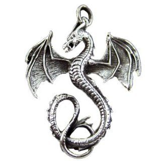925 Silver Dragon Pendant Jewelry
