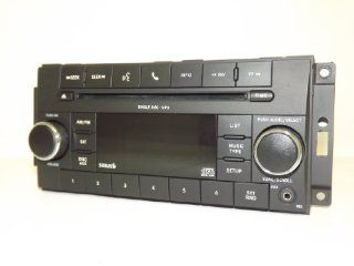 Chrysler Dodge Jeep 2007 2008 2009 2010 Radio  CD iPod Aux Sirius Satellite P05091228AC Automotive