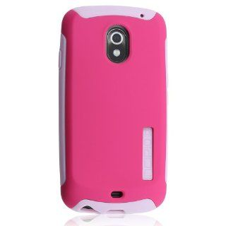 Incipio Silicrylic Double Cover Case with Stand For Samsung Galaxy Nexus   Hot Pink / Light Pink   Hard Shell Case with Silicone Core   BULK Packaging Cell Phones & Accessories