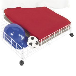 Rolling Under Bed Storage Cart 6.38x24x23.75