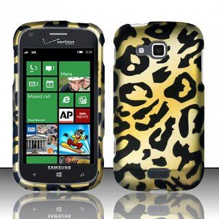 Yellow Cheetah Hard Cover Case for Samsung ATIV Odyssey SCH I930 Cell Phones & Accessories