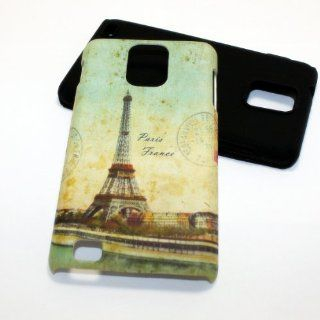 Heavy Duty 2 in 1 Hybrid Case for Samsung Infuse 4G SGH I997 Eiffel Tower Paris PC+Silicone Cell Phones & Accessories