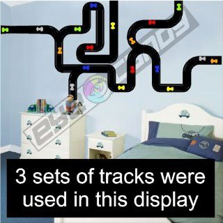 Race Track Wall/ Decals/ Stickers /Words /Childs Bedding Childrens Wall Decor Kitchen & Dining