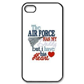 Air Force iPhone 4 4S Case Hard Plastic iPhone 4 4S Back Cover Case Cell Phones & Accessories