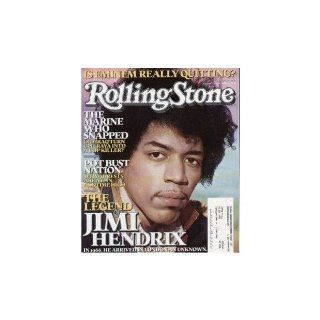 Rolling Stone Magazine # 980 August 11 2005 Jimi Hendrix (Single Back Issue) Rolling Stone Books