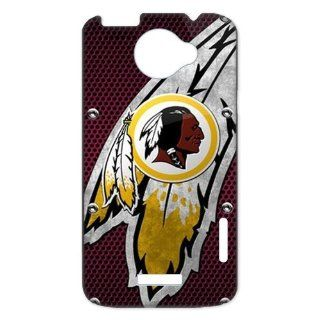 key Custombox NFL Washington Redskins Team Logo HTC ONE X Best Durable Plastic Case for Fans Cell Phones & Accessories