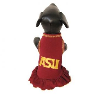 NCAA Arizona State Sun Devils Cheerleader Dog Dress  Pet Dresses  Sports & Outdoors