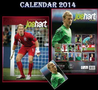 JOE HART CALENDAR 2014 + JOE HART FRIDGE MAGNET   Wall Calendars