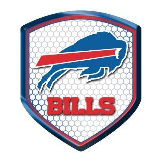 Buffalo Bills NFL Reflector Decal Auto Shield for Car Truck Mailbox Locker Sticker Football Licensed Team Logo  Sports Fan Automotive Decals  Sports & Outdoors
