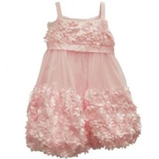 Bonnie Baby Girls 12 24 Months Bonaz Bubble Dress (24 Months, Pink) Clothing