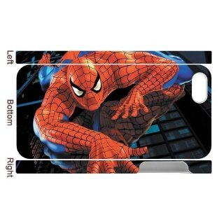 DIY Cover Customize Printing Mobile Phone Cases 3D for iPhone 5 Spider Man Collection DIY Cover 0298 Cell Phones & Accessories
