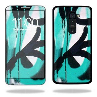 MightySkins Protective Vinyl Skin Decal Cover for LG G2 T Mobile Sticker Skins Graffiti Tagz Cell Phones & Accessories