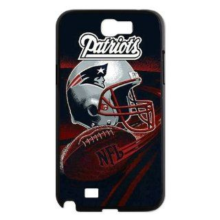 popularshow Ultra clear color high definition image NFL New England Patriots logo case for for Samsung Galaxy Note 2 N7100 Phone Case Cell Phones & Accessories