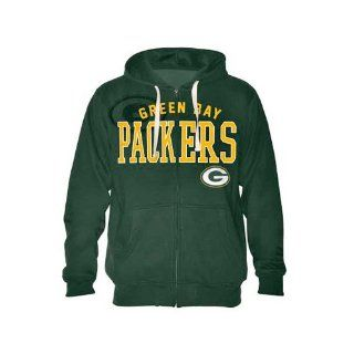 Green Bay Packers Men's Hoodie with Applique Lettering, Medium  Sports & Outdoors