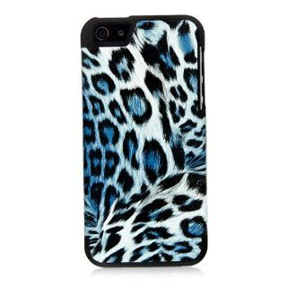iSee Case (TM) Leopard Print Faux Leather TPU Back Cover Protective Case for Apple iPhone 5 5S(5S TPU Leopard Brown+Stylus) Cell Phones & Accessories