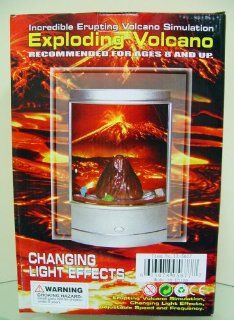 Boys Volcano Erupting Lava Accent Table Lamp