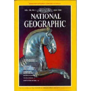 National Geographic Magazine, July 1980 Articles on Bulgaria and China (Vol. 158, no. 1) meremart Books