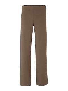 Lands End Women`s refined stretch jersey trousers Light Brown