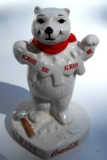 "Shop Always You Always Me Coca Cola Polar Bear 3"" Figurine at the  Home D�cor Store"