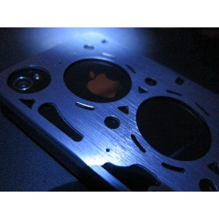ID AMERICA GASKET Brushed Aluminum Case for iPhone 4 and 4S   Silver (AT&T/Verizon/Sprint) Cell Phones & Accessories