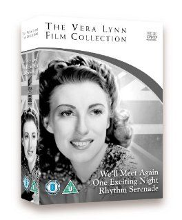 Vera Lynn Film Collection (We'll Meet Again / Rhythm Serenade / One Exciting Night) [Regions 2 & 4] Frederick Leister, Irene Handl, Vera Lynn, Geraldo, Patricia Roc, Ronald Ward, Donald Gray, Betty Jardine, Brefni O'Rorke, Marian Spencer, Gord