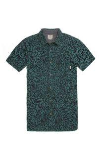 Mens Vans Shirts   Vans Clawson Short Sleeve Woven Shirt