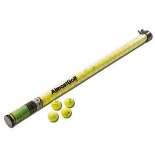 Almost Golf Practice Stick 2 Dozen Balls   Yellow  Sports & Outdoors