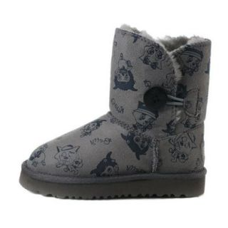 E LILY Kids' Fashion Cartoon HTL Short Boot Grey 29 EU Shoes