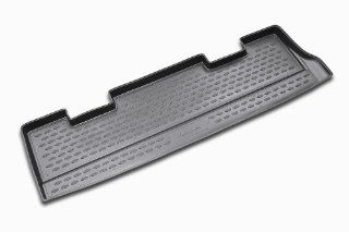 Novline 08.11.B13 Chevrolet Chevy Tahoe (behind 3rd row seat) Cargo Liner   Cargo Tray   Cargo Mat   1999 2006   Black Automotive