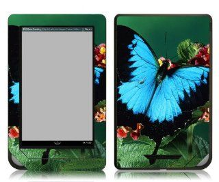 Bundle Monster Barnes & Noble Nook Color Nook Tablet eBook Vinyl Skin Cover Art Decal Sticker Accessories   Butterfly   Fits both Nook Color and Nook Tablet (Released Nov. 7, 2011) Devices  Players & Accessories
