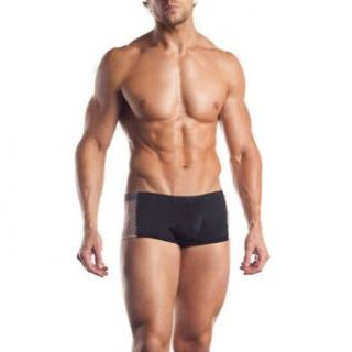 Fishnet Side Panel Brief   Black   One Size at  Men�s Clothing store