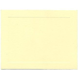 Ivory Panal 4 1/4 x 5 1/2 (fits inside an A2 envelope) Blank Note Cards  100 per pack