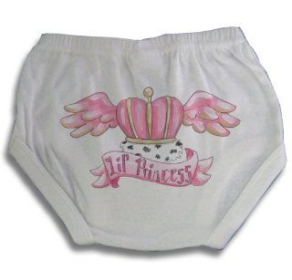 Light of Mine Designs Little Princess Tattoo Diaper Cover/Panty Brief, Newborn  Infant And Toddler Bloomers  Baby